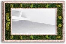 Specchio Muschio Cornice Onda 100x60