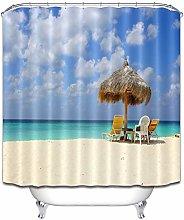 Spiaggia mare erba padiglione lettino fresco