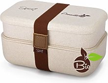 SPICE Amarillo Bio Duo Scaldavivande Bento Box