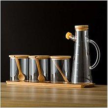 Spice Jar Glass Barattoli e coperchi Contenitori