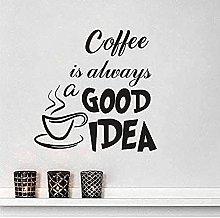 Splendidamente Art Wall Stickers Coffee is