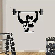 Sport palestra decorazione adesivo fitness studio