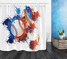 Sport splash vernice baseball stampa HD, bagno