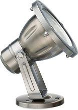 Spot acciaio gea led uranus ges110 led ip65