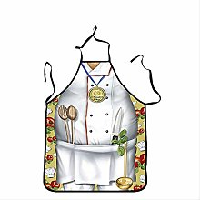 SQSHWL Grembiule Fat Chef Cosplay Grembiule da