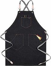 SQSHWL Moda Donna Cucina Barbecue Grembiule da