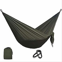 SQSHWL Portatile in Nylon Paracadute Amaca Campo