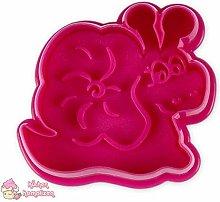 Städter 171749 - Stampo per biscotti, colore: Rosa
