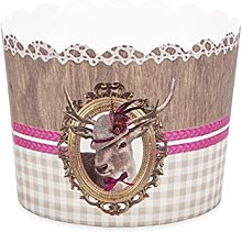 Städter 'Cup Cake Stampo da Forno in Carta