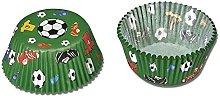Staedter - Teglia da forno per carta da calcio, 50