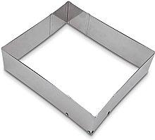 Städter Teglia Quadrata Regolabile in Alluminio
