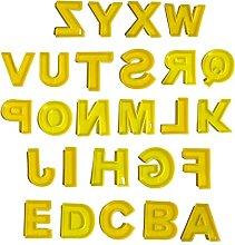 Stampaggio & Casting, FAI DA TE lettere alfabeto