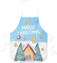 STAMPATEK Grembiule da Cucina Magico Natale