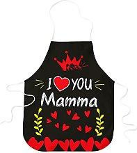 STAMPATEK Grembiule Festa della Mamma Cucina I