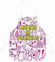 STAMPATEK Grembiule Mamma ai Fornelli Idea Regalo
