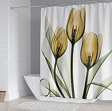Stampato in Digitale Tenda da Bagno tulipano Tenda