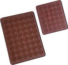 Stampi Antiaderenti Silicone Macarons Tappetino
