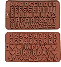 Stampi Cioccolatini,2 Pezzi Stampi in Silicone