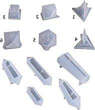 Stampi in resina epossidica di cristallo fai da te
