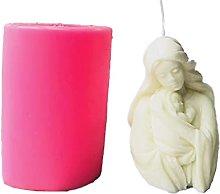 Stampi in silicone 3D madre bambino ritratto