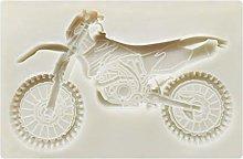 Stampi in silicone 3D per motociclette Sugarcraft
