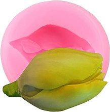 Stampi in silicone a forma di fiore orchidea rosa