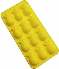 Stampi in silicone da forno, 12 cavità 3D ananas