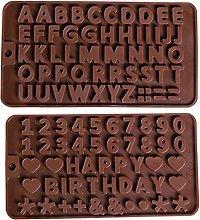 Stampi in silicone da forno, stampo alfanumerico