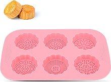 Stampi in silicone Mooncake, stampo a forma di