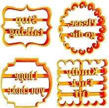 Stampi Per Biscotti Con Buon Auguri Formine Per