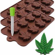Stampi per caramelle alla marijuana Vassoi in