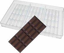 Stampi per cioccolatini a forma di barretta in