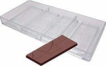 Stampi per cioccolatini a forma di barrette di