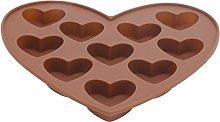 Stampi per cioccolato, caramelle antiaderenti per