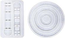 Stampi per colata in silicone Forma di calendario