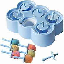 Stampi per ghiaccioli bambini 6 cavità Stampi per