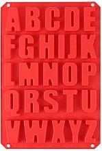 Stampi per lettere in silicone, stampi per lettere