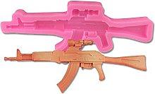 Stampo 3D in silicone a forma di pistola per