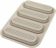 Stampo 4 Mini Baguette Bread in Silicone -
