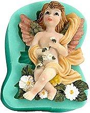 Stampo a forma di angelo per cupcake a forma di