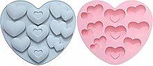 Stampo a forma di cuore per torte e fondente fai