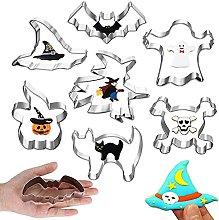 Stampo Biscotti Halloween,7 pcs Formine Biscotti