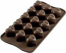 Stampo Cioccolato Cuori Mon Amour in Silicone -