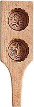 Stampo da forno fatto a mano in legno a forma di