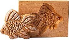 Stampo da forno in legno 3D Stampo per biscotto