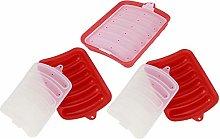 Stampo da forno in silicone, 3 pezzi stampo per
