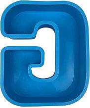 Stampo da forno in silicone, grande alfabeto in