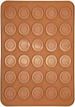 Stampo da forno in silicone per macaron a 30 fori,