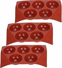 Stampo da forno per cioccolatini semi-sfere,