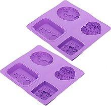 Stampo da forno per cupcake riutilizzabile a 4